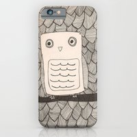 iPhone & iPod Case featuring Jeffery the Owl by Glassy
