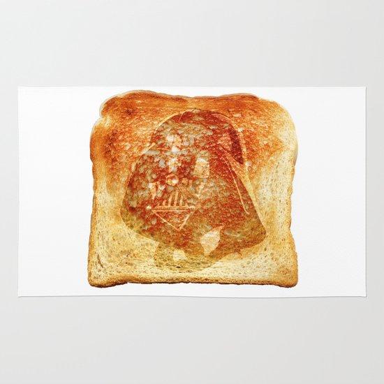 Darth Vader toast Area & Throw Rug