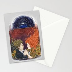 Together or not at all Stationery Cards