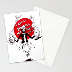 And with the music there are no limits... Stationery Cards