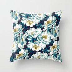 Mount Cook Lily (Night) Throw Pillow