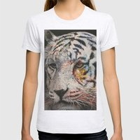 tiger Womens Fitted Tee Ash Grey SMALL