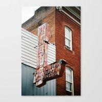 Photographers Portraits Commercial Canvas Print