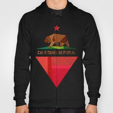 California 2 (rectangular version) Hoody