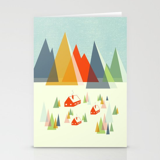 The Foothills Stationery Card