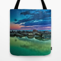 Ashbridges Bay Toronto Canada Sunrise No 12 Tote Bag