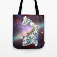 Koi Japanese Fish Number… Tote Bag