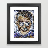 BECKETT Framed Art Print