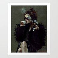 Art Print featuring Marla Singer (remaining … by Lensebender