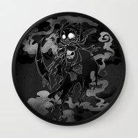Deathly Bear Wall Clock