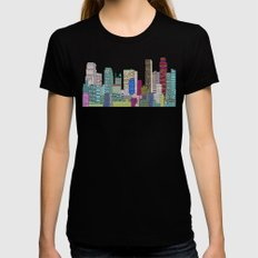 L.A City  Womens Fitted Tee Black SMALL