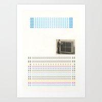 Super/computer Art Print