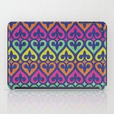 Fleur De lis & Hearts iPad Case