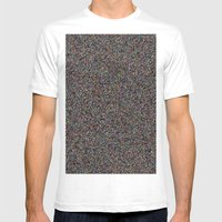 NOiSE Mens Fitted Tee White SMALL