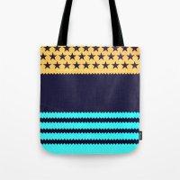 My US Flag & Jeans Tote Bag