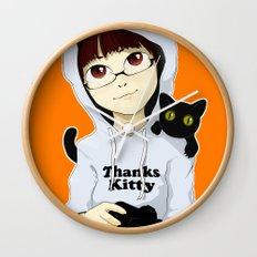 thanks kitty - i like photography Wall Clock