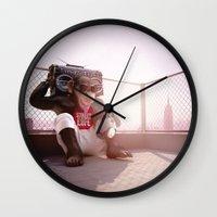 Monkey Beat Wall Clock