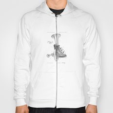 Shoe Horn Reinvention Drawing Hoody
