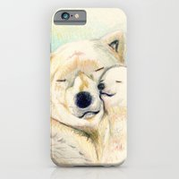 Polar Bears, Mother And … iPhone 6 Slim Case