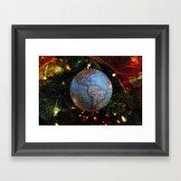The Gift Of The World Framed Art Print