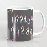 Numbers! Grey Mug