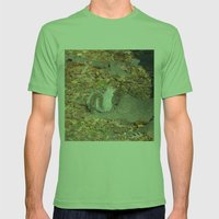 The NewYorker Mens Fitted Tee Grass SMALL
