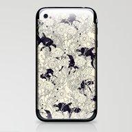 iPhone & iPod Skin featuring Hide And Seek by Nicebleed