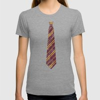 Gryffindor Womens Fitted Tee Tri-Grey SMALL