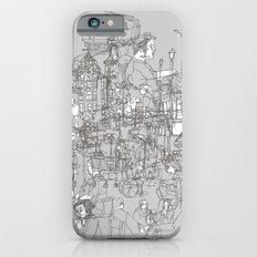 Interlocking Lives, Lines, and Transit Lanes Slim Case iPhone 6s