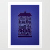 Good Things And Bad Thin… Art Print