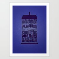 Good Things And Bad Thin… Art Print