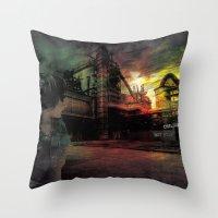 children do not stop Throw Pillow