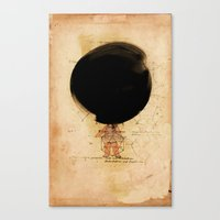 The Wee Obliteration of The N-Gon Canvas Print