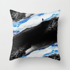 Vision Of The Frosty Mou… Throw Pillow