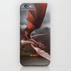 Smaug Burns Lake-Town Slim Case iPhone 6s