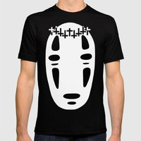 Woe Face Mens Fitted Tee Black SMALL