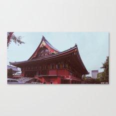 Asakusa Temple, Tokyo Canvas Print