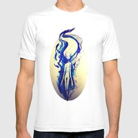 Blueflame Mens Fitted Tee White SMALL
