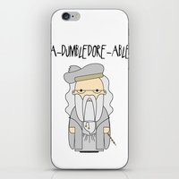 A-DUMBLEDORE-ABLE.  iPhone & iPod Skin