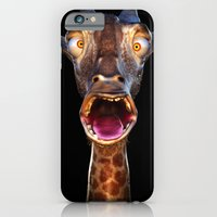 Animal Portraits - Giraf… iPhone 6 Slim Case