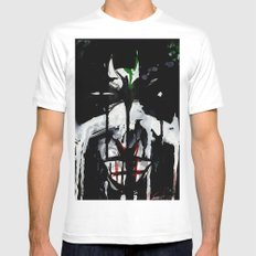 Why so serious? Mens Fitted Tee SMALL White
