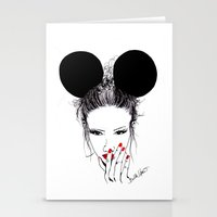 Minnie Mouse Stationery Cards