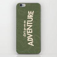 The Adventure iPhone & iPod Skin