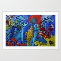 My Fish Art Print