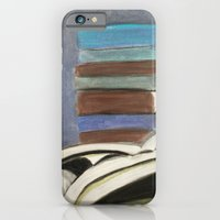 Books - Pastel Illustration iPhone 6 Slim Case