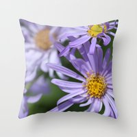 Daises Everywhere Throw Pillow