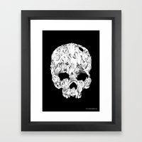Shirt Of The Dead Framed Art Print