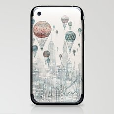 Voyages Over New York iPhone & iPod Skin