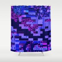 Taintedcanvas165 Shower Curtain