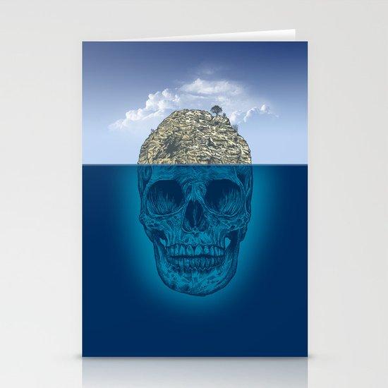 Skull Island Stationery Card